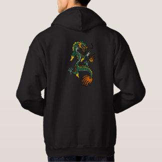 Sweat - shirt à capuche chinois de dragon