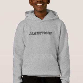 Sweat - shirt à capuche collégial de style de