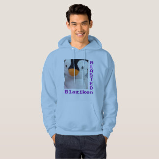 Sweat - shirt à capuche de bleu de BlastedBlaziken