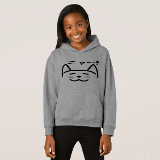Sweat - shirt à capuche de chat - ニャー de Meow