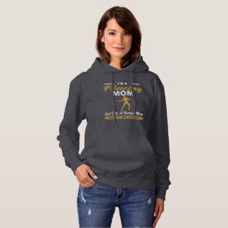 Sweat - shirt à capuche de clôture frais de maman
