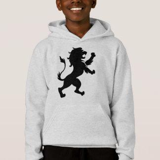 Sweat - shirt à capuche de crête de lion