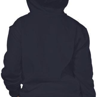 Sweat - shirt à capuche de fermeture éclair d'avan t-shirt