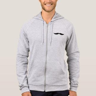 Sweat - shirt à capuche de fermeture éclair (gris
