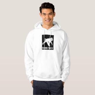 Sweat - shirt à capuche de forêt de babouin