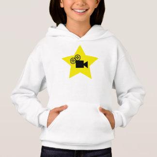 Sweat - shirt à capuche de Hanes de filles de star