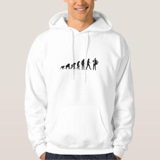 Sweat - shirt à capuche de joueur d'accordéon