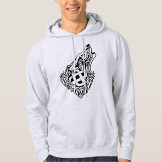Sweat - shirt à capuche de Knotwork de Celtic de