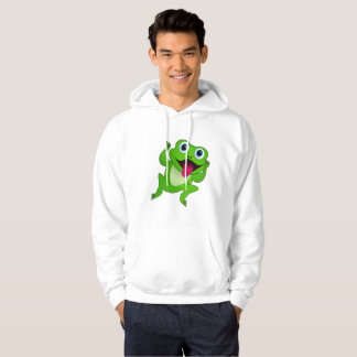 Sweat - shirt à capuche de la grenouille des