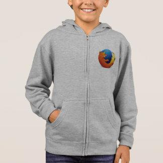 sweat - shirt à capuche de logo de firefox (aucun