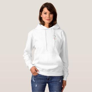 Sweat - shirt à capuche de logo du QL des femmes
