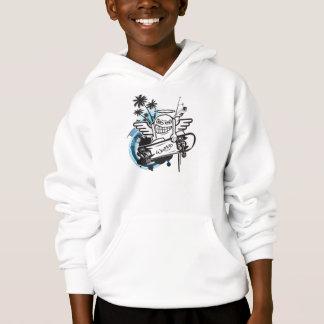 Sweat - shirt à capuche de patineur d'ange de