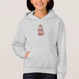 Sweat - shirt à capuche de Père Noël