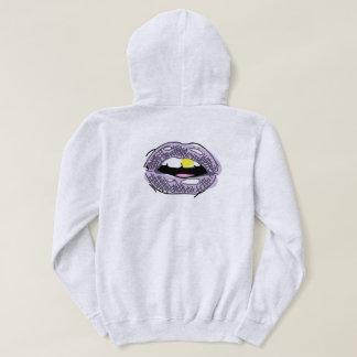 sweat - shirt à capuche de pull de logo