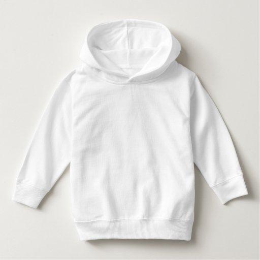 Sweat-shirt à capuche pour les tout-petits, Blanc
