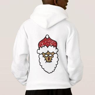Sweat - shirt à capuche de renne du père noël de