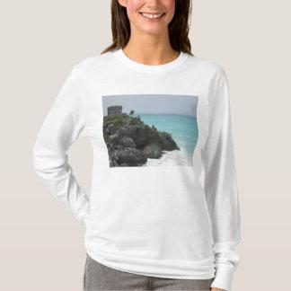 Sweat - shirt à capuche de ruine de Tulum