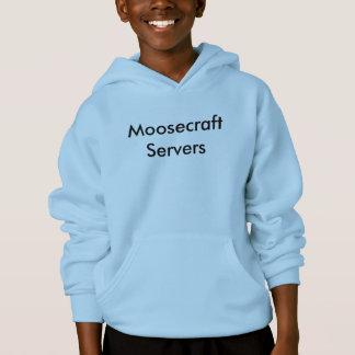 Sweat - shirt à capuche de serveurs de Moosecraft