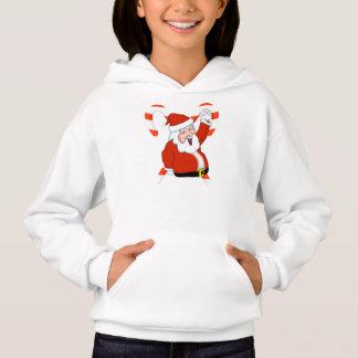 Sweat - shirt à capuche de vacances de Père Noël