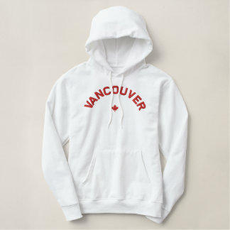 Sweat - shirt à capuche de Vancouver - feuille