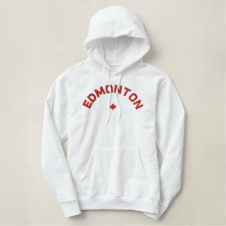 Sweat - shirt à capuche d'Edmonton - feuille