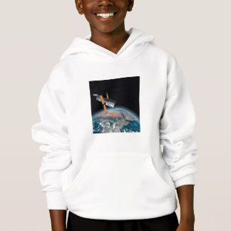 Sweat - shirt à capuche d'enfant d'astronomie