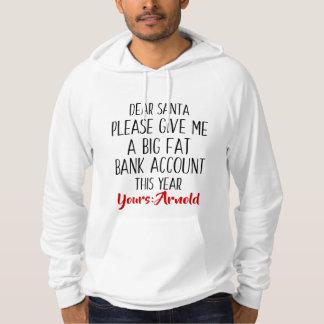 Sweat - shirt à capuche drôle de Père Noël de