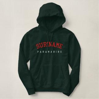 Sweat - shirt à capuche du Surinam Paramaribo