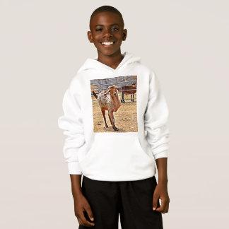 Sweat - shirt à capuche du trépied du garçon