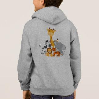 Sweat - shirt à capuche mignon d'animal de bébé de