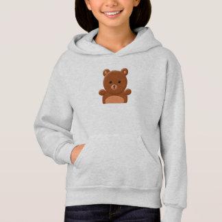Sweat - shirt à capuche mignon d'ours de nounours