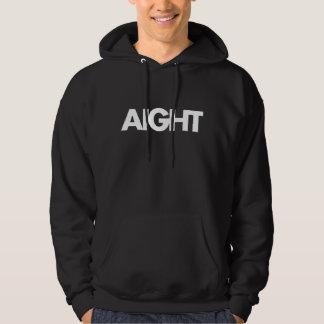 Sweat - shirt à capuche noir d'AIGHT