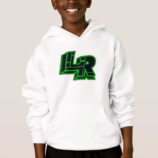 Sweat - shirt à capuche officiel de logo de la LR
