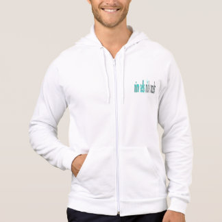 Sweat - shirt à capuche original blanc d'hommes de
