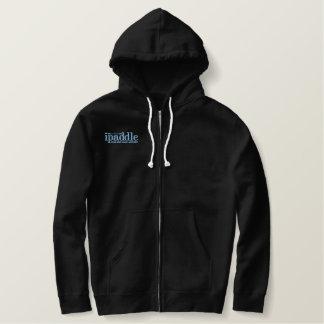 Sweat - shirt à capuche Sherpa-Rayé de fermeture