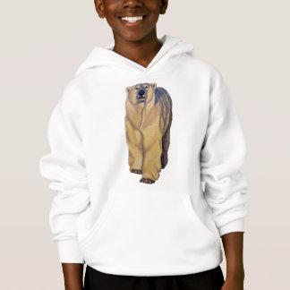 Sweat - shirt à capuche Sweatshi d'ours blanc du