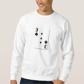 Sweatshirt 3 de la carte de jeu de pelles