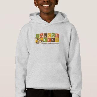 Sweatshirt à capuchon de Fest de faucon de chute