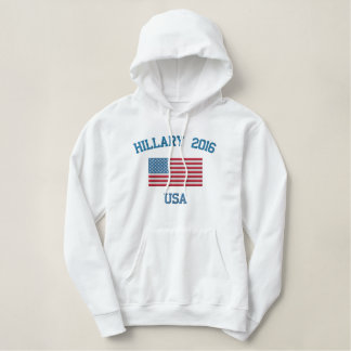 Sweatshirt à capuchon de Hillary 2016