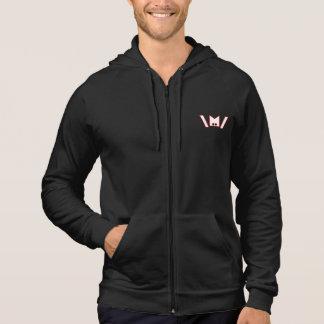 Sweatshirt à capuchon de métaux lourds d'émoticône