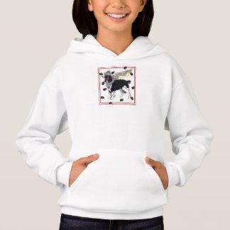Sweatshirt à capuchon de Springer des anges de