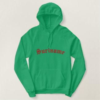 Sweatshirt à capuchon du Surinam
