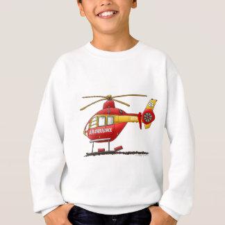 Sweatshirt Ambulance médicale d'hélicoptère de délivrance de