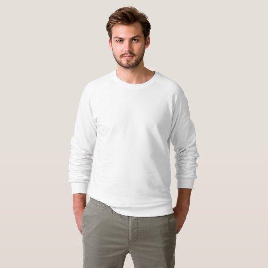 Sweat-shirt raglan, Blanc