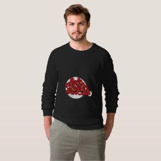 Sweatshirt américain de raglan d'habillement de