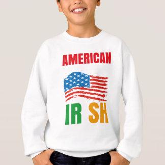 Sweatshirt Américain par l'IRLANDAIS de naissance par la