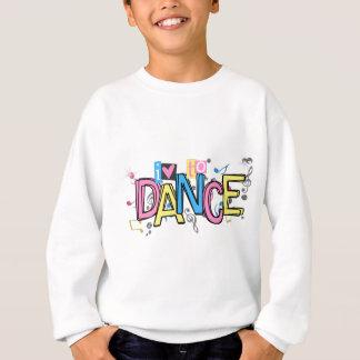 Sweatshirt Amour à danser
