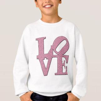 Sweatshirt Amour dans le mot