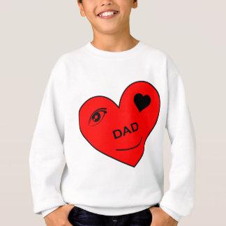 Sweatshirt Amour d'oeil mon papa