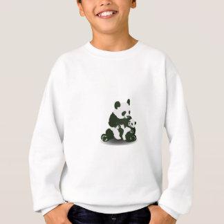 Sweatshirt Amour d'ours panda pour son bébé
